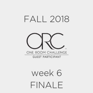 fall 2018 one room challenge guest participants week 6
