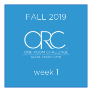 Fall 2019 One Room Challenge® Guest Participants, Week 1