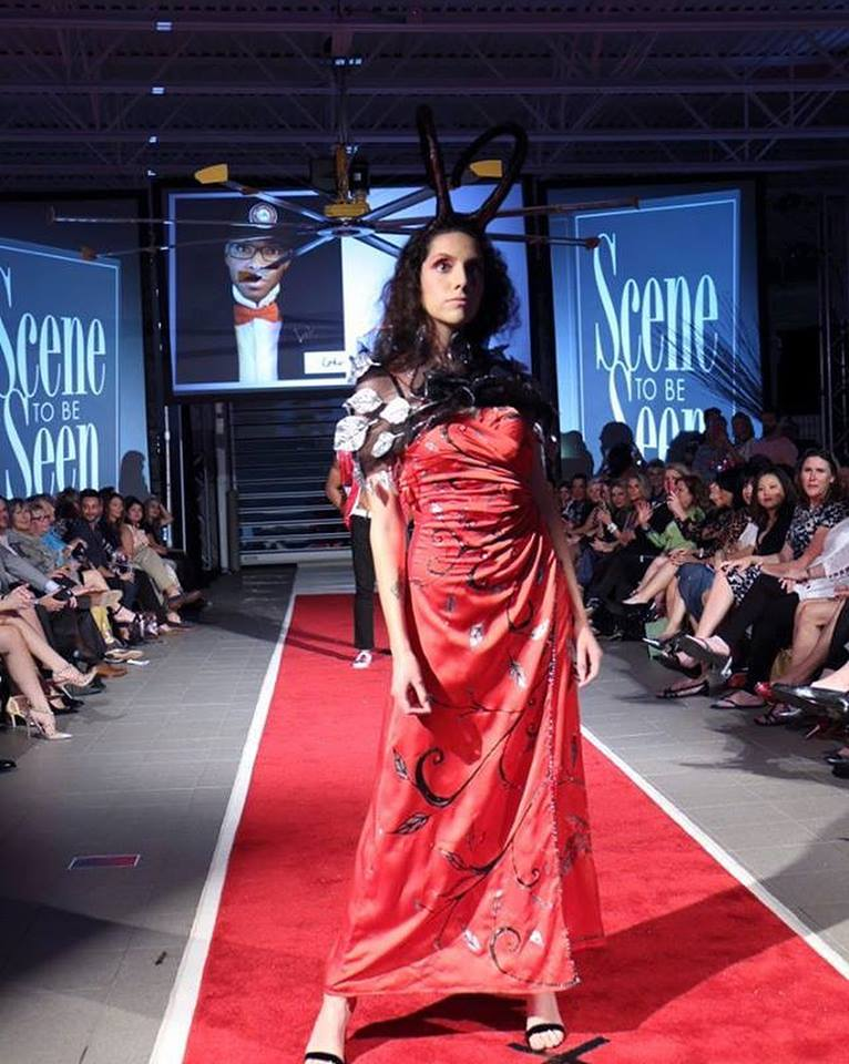 "1st Annual ""Scene To Be Seen"" Runway Art Show, Naples FL"