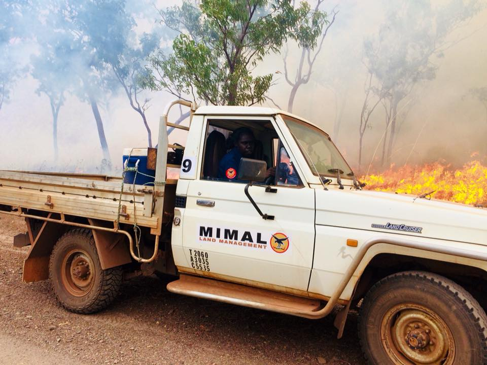 Mimal Land Management relies on vehicles to do its land and fire management work, to complete contracts and to fight large bushfires that sweep across the landscape in the hot season.