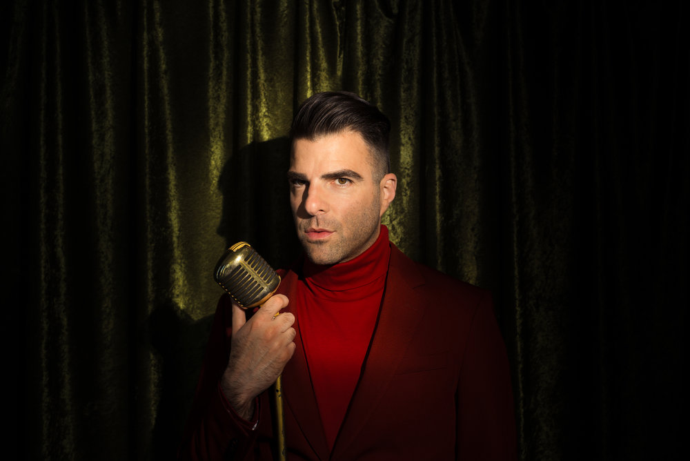 Zachary Quinto for New York Magazine May 2018