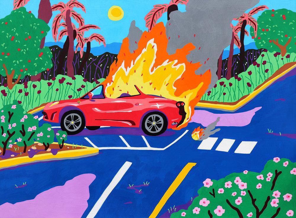 Death In A Ferrari