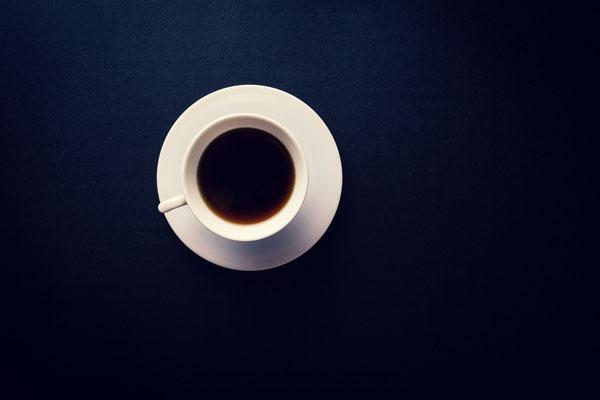 Snup en kaffe - den er fyldestgørende!