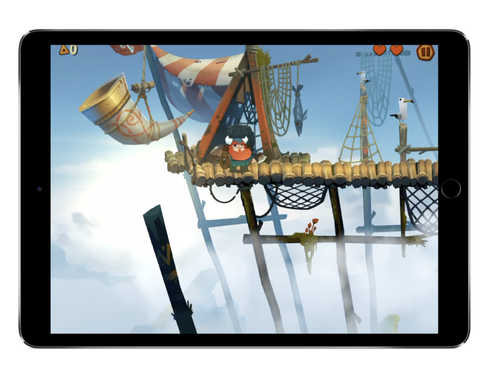 Oddmar by Mobge  LTD does a great job in keeping UI Elements consistent through the game experiences.