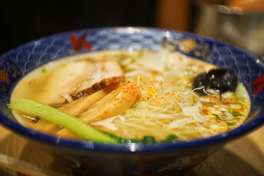 Lobster Broth Ramen with Clear Soup