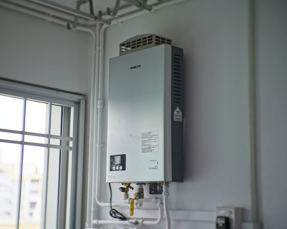 The  Macro MA-10FE instantangeous gas heater .
