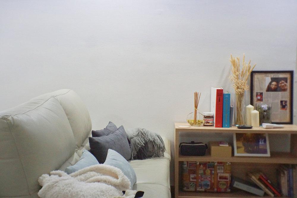 Smart home sofa