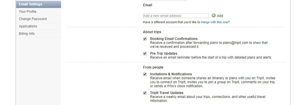 TripIt is able to accurately pull booking confirmation details from your emails.