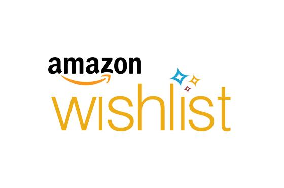 Click to view our Amazon Wishlist