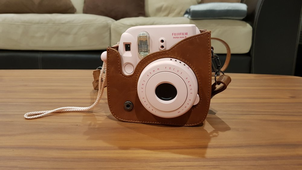 Fujifilm Instax Mini 8 (yes…. it's pink)