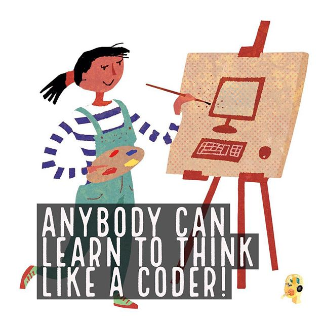 Anybody can learn how to #thinklikeacoder!