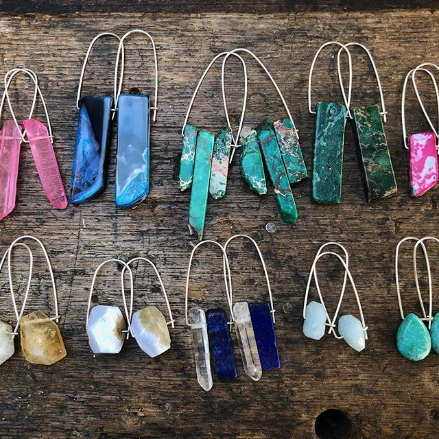 Just in time for the long weekend! #betsyblonde #gemstones #gemstonejewellery #portfairy #portfairyfolkfestival #giftshop #homedecor #greatoceanroad #apollobay #longweekendfun #moomba #labourdayweekend #hereforthelifestyle