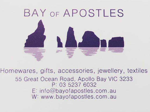 We have a website and an on line shop. All good things come to those who wait. This will make everyone's life easier so happy shopping. www.bayofapostles.com.au #bayofapostles #homewaresonline #giftshopping #homeaccessories #handmadejewellery #textiles #greatoceanroad #onlineshopping #dogfriendly #bikefriendly