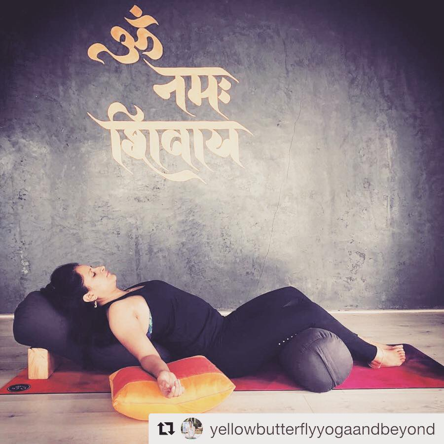 Want to make  @yellowbutterflyyogaandbeyond  's experience your own? Join us at the Svatma Yoga Studio to experience Yin Yoga like never before.