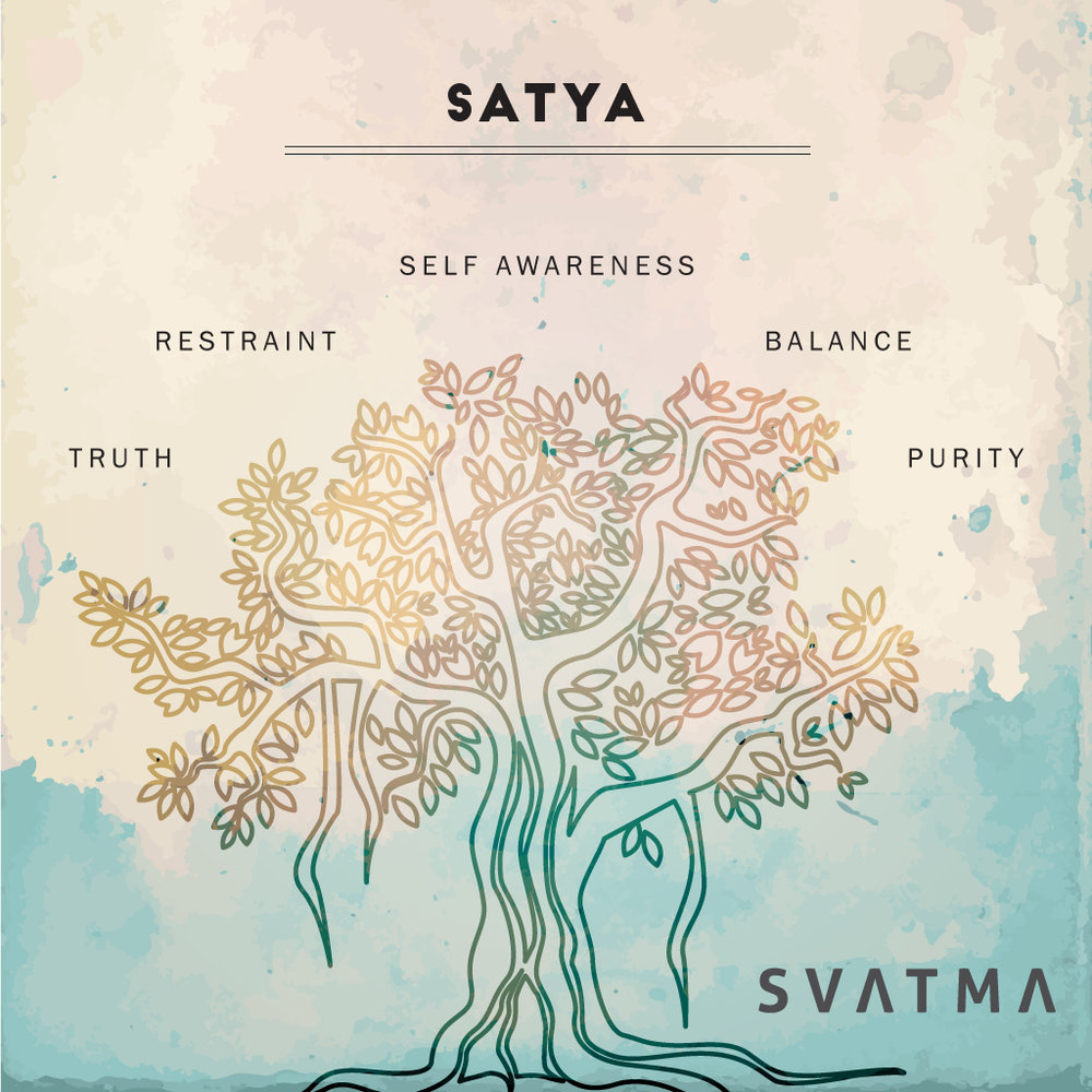All aspects of our life can benefit from applying the teachings of Satya, and as we'll learn – it means a whole lot more than 'not telling lies'. When applying Satya to your own life, be gentle with yourself and others and be careful not to be too literal. The truth for truth's sake, for example, is not more important than maintaining a kind, nonviolent attitude and demeanor. Practicing Satya requires staying open to truth in the present moment, as it reveals itself.