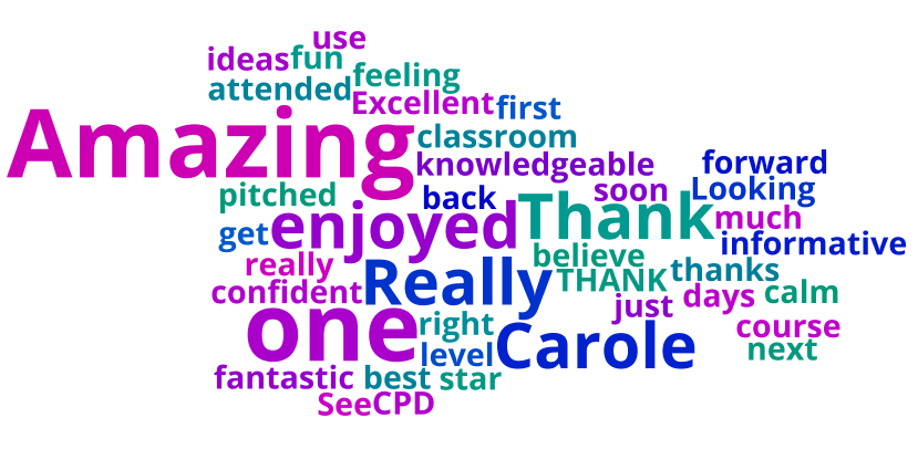 Do you have any further feedback about today's CPD?