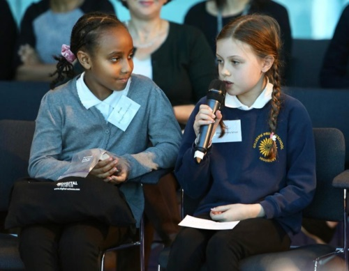 Latest news: equal play symposium - On Monday 29th October, the children from the Gillespie Science Committee attended the Equal Play Symposium at City Hall.