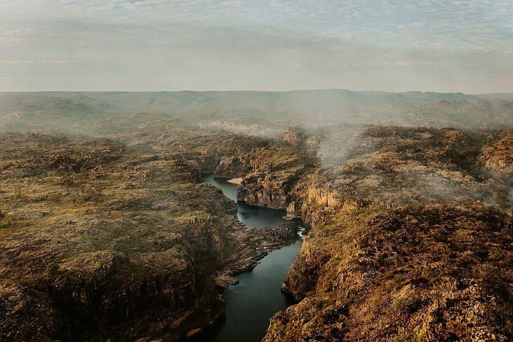 overlooking the stunning Katherine Gorge, NT
