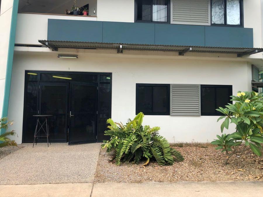 Beija Flor studio, entrance via the front door, 1/2 Tang Street, Coconut Grove, corner of Tang St and Dick Ward Drive