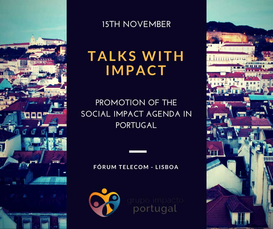 """Talks with Impact"", will take place on November 15th."