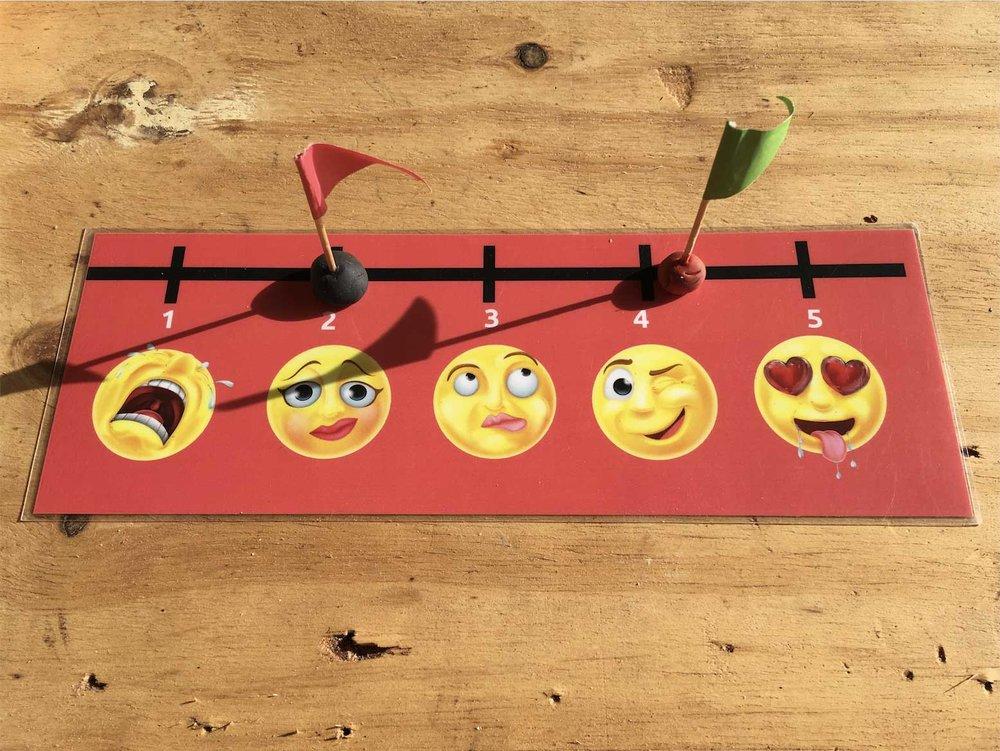 Emoji Likert Scale