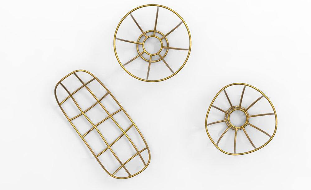 LOBI - x Maison Intègre Projet de réaliser des corbeilles et chandeliers en s'inspirant des petites sculptures humanoïdes chez les LOBI.