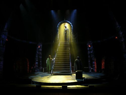 Behind the scenes lighting design u pa on stage