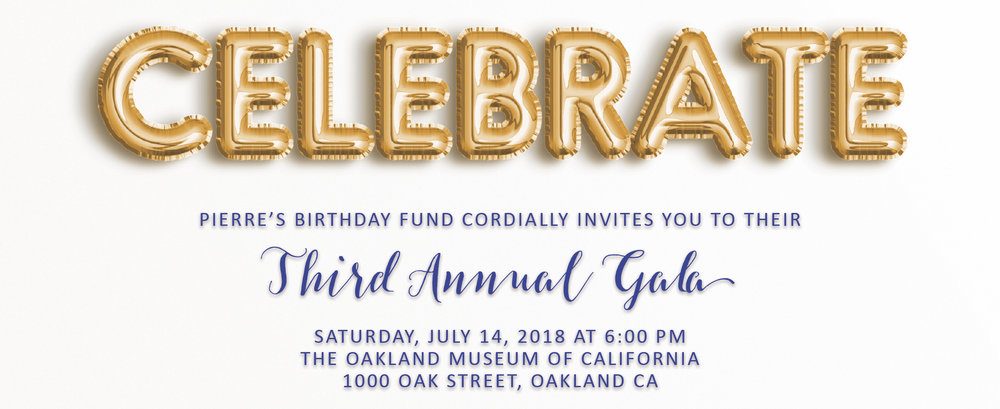 Pierre S Birthday Party Pierre S Birthday Fund