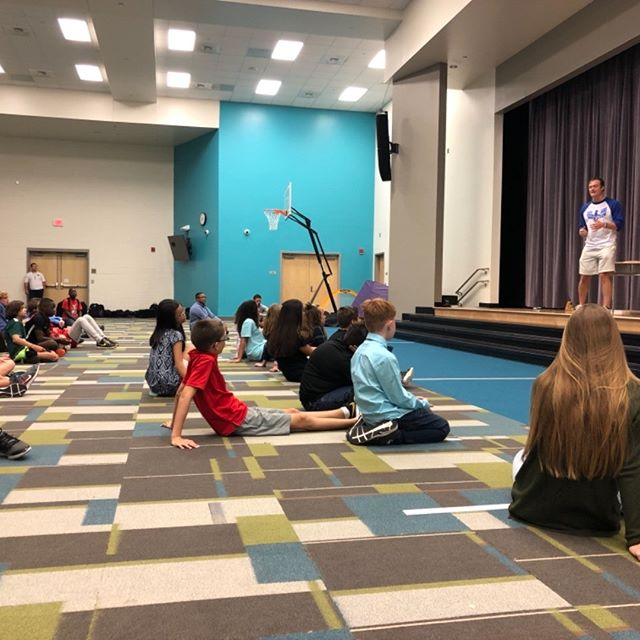 Another FCA for the books from our very own Nick Zebst frim Lighthouse Church! He delivered a message about understanding what you stand for to 85 high school students and 55 middle school students! We our so thankful for the harvest at Philip Simmons school this week.
