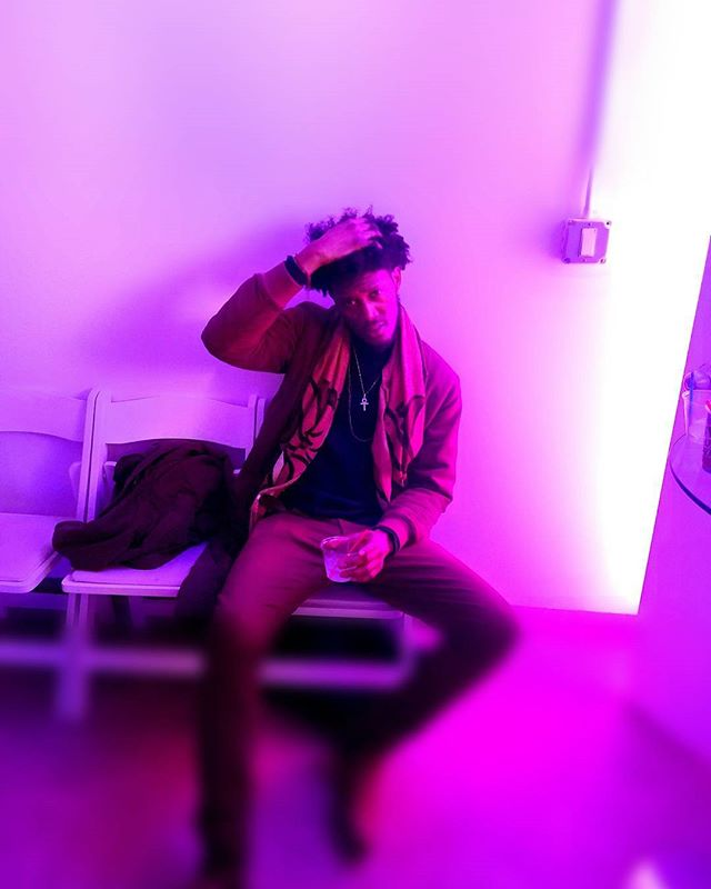 In some pink walls 💓  #Kojostonemusic  #iTISEntertainment  #nyc #london #la  #nyf #nyfw2018 #nyfashion  #king 👑 #photography  #Musicinfluencer #art  #artist