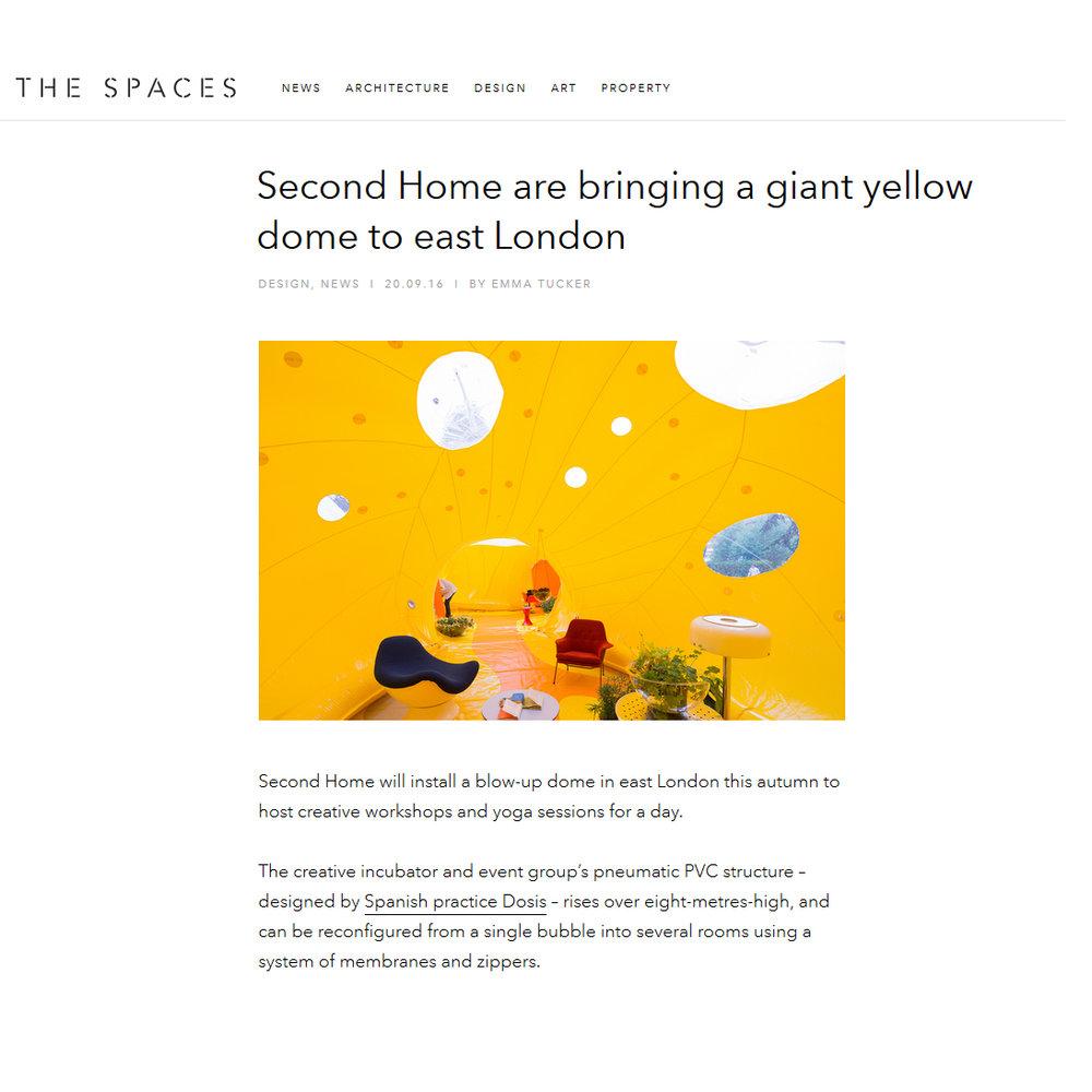 The Spaces. Tucker. E.  2016