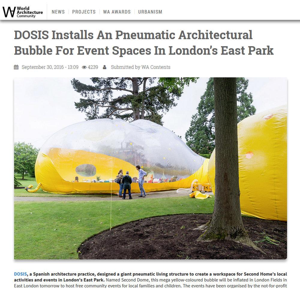 World Architecture. 2016