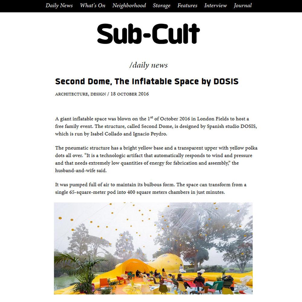 Sub-Cult. 2016