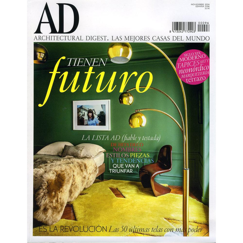 AD. November 2014. (Printed Publication)