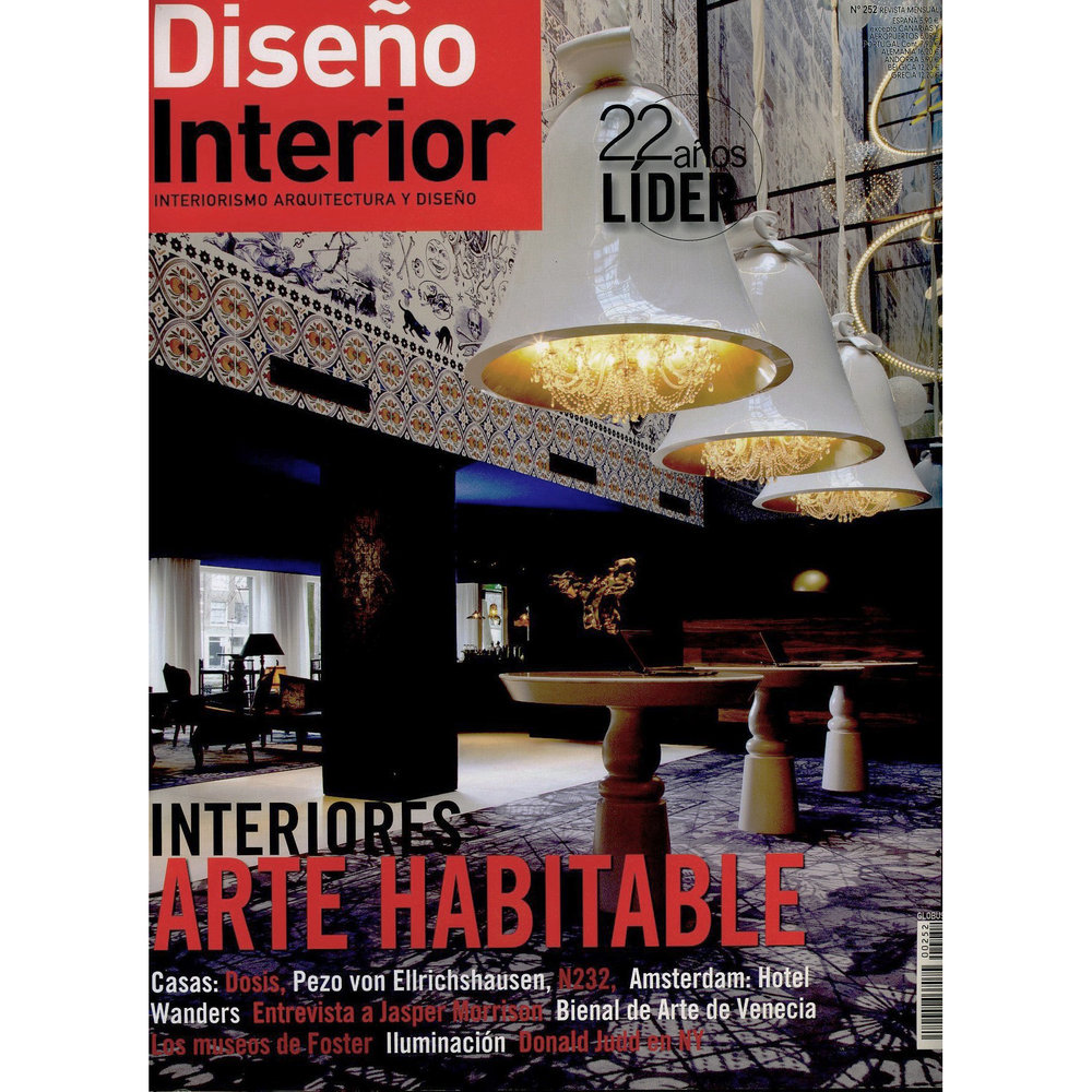 Diseño Interior. 2014 (Printed Publication)