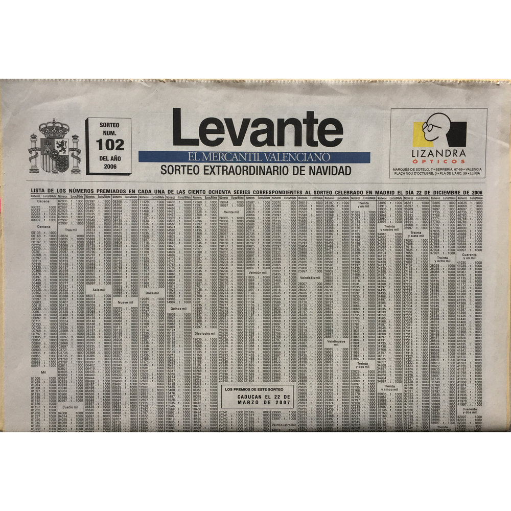 Levante. 2006 (Printed publication)