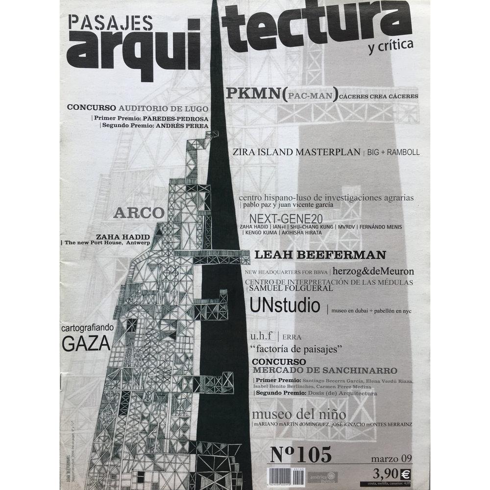 Pasajes Arquitectura nº 105. 2009