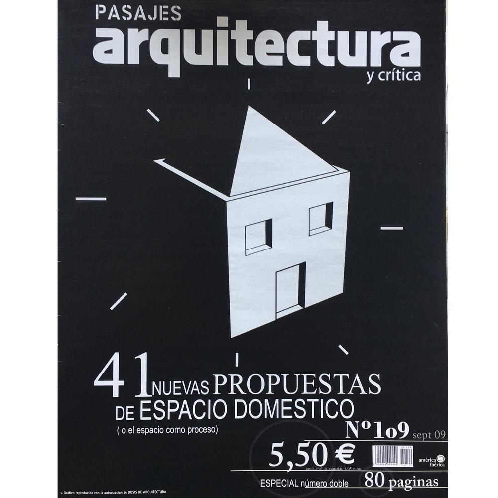 Pasajes Arquitectura nº 109. 2009