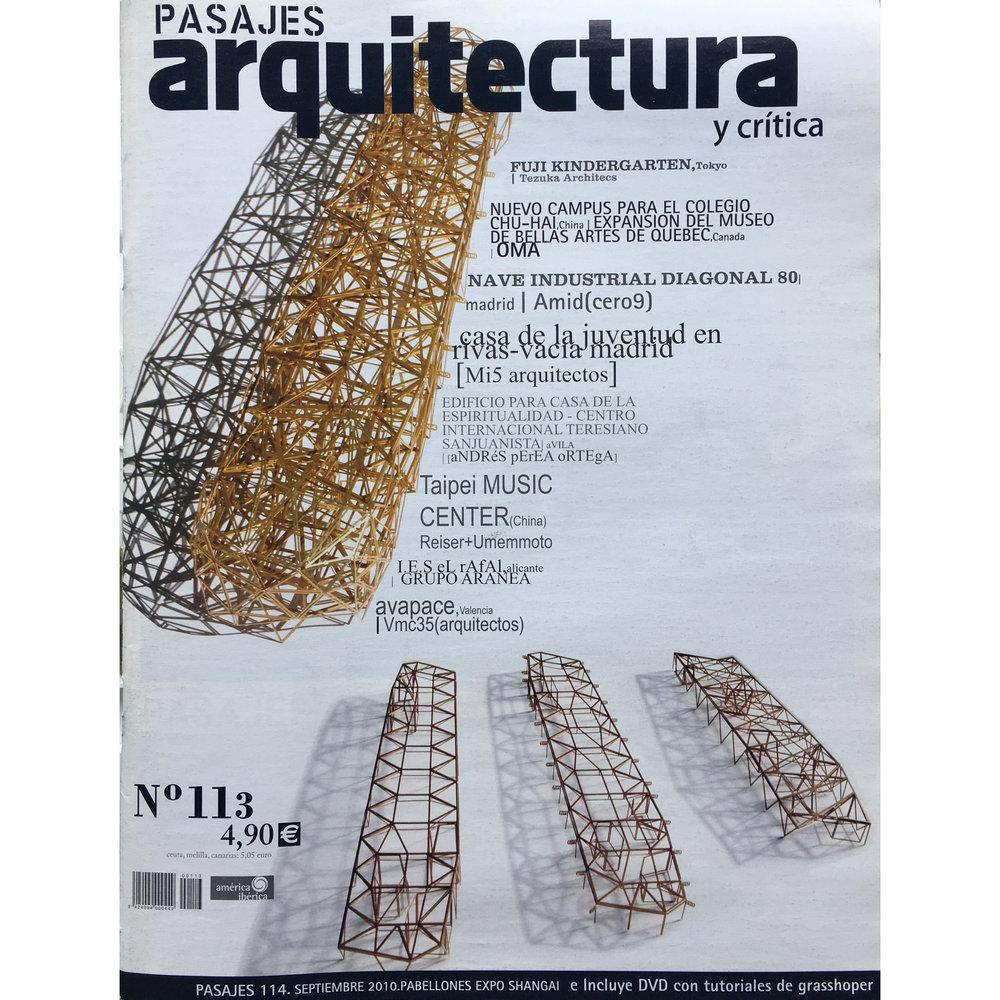 Pasajes Arquitectura nª 113. 2010