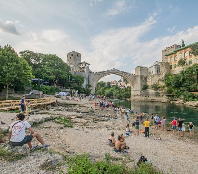 Few structures are as legendary in Bosnia & Herzegovina as the Old Bridge of Mostar. Destroyed in 1993 during the Croat-Bosniak War, this reconstructed masterpiece has come to represent the resiliency, recovery, and beauty of a nation once consumed by the brutal conflicts of the fall of Yugoslavia.