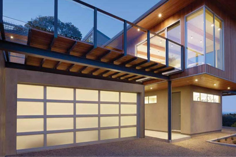 Aluminum Doors. Our aluminum garage doors make an excellent choice for the modern home owner.