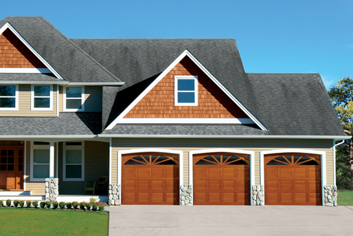 Traditional Wood Series. Select from a rail-and-stile or flush design for your wood garage door.