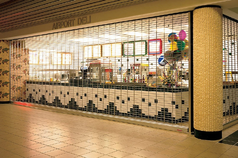 Security Grilles. Attractive solutions for commercial retail environments.