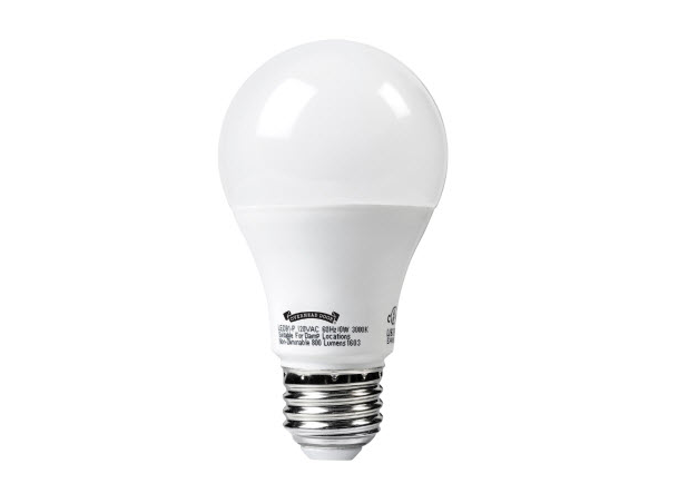 LED Light Bulb. LED Light Bulb for garage door openers