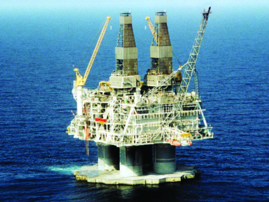 Hibernia Offshore Oil Platform - The Hibernia Oil Field lies approximately 200 miles (315 km) east-southeast of St. John's, Newfoundland, Canada. When an offshore platform was deemed necessary to tap this rich petroleum resource, engineers and developers faced serious challenges.