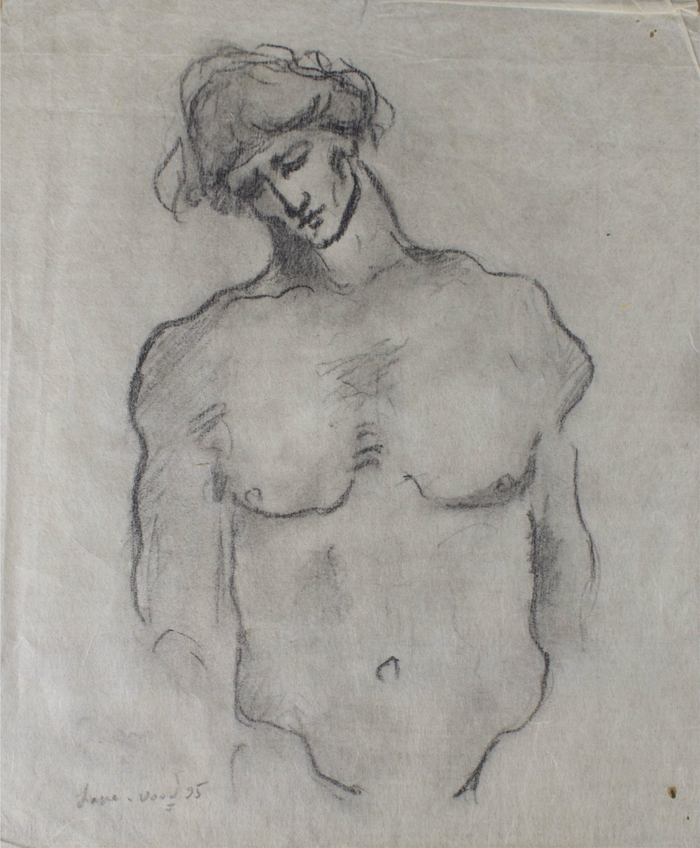 """""""Lonely Man""""    8"""" x 10""""    Pencil on Paper"""