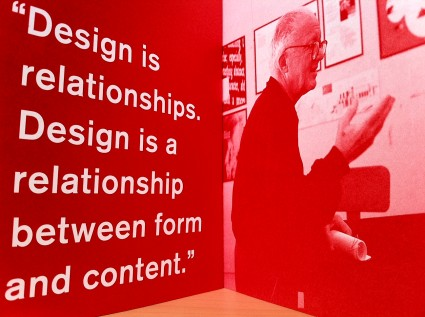 Design is Relationships. Design is a relationship betwen form and content.