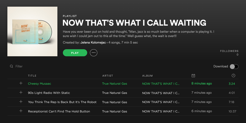 Spotify playlist for True Natural Gas.png