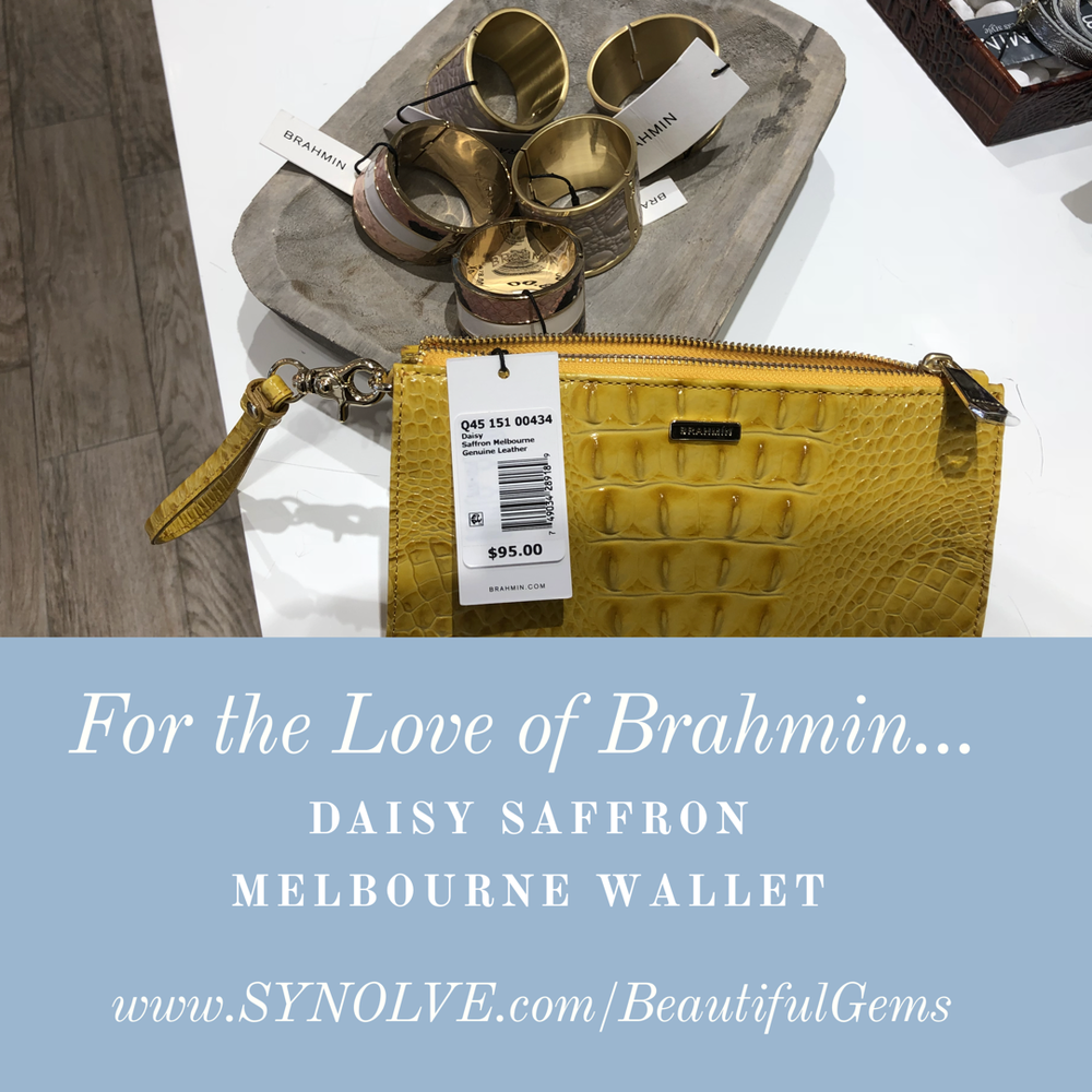 Daisy Saffron Melbourne Wallet