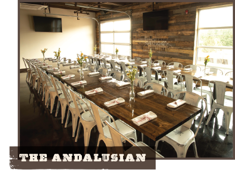 The Andalusian Room Party Fowl